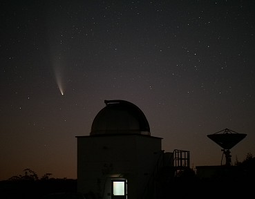 Comet Neowise on July 18th, 2020